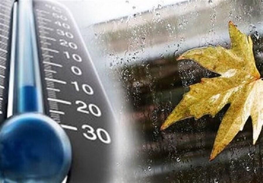 کاهش دما در نوار شمالی کشور