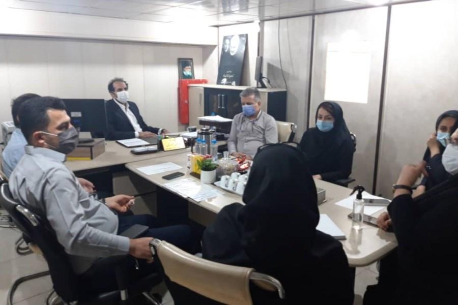 برگزاری نشست مشترک بیمه آتیه سازان حافظ با کمیته امداد امام خمینی خوزستان