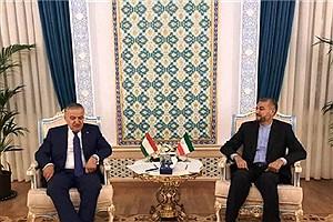 تصویر  تاکید امیر عبداللهیان بر توسعه همکاریهای ایران و تاجیکستان در مسائل منطقهای و بینالمللی