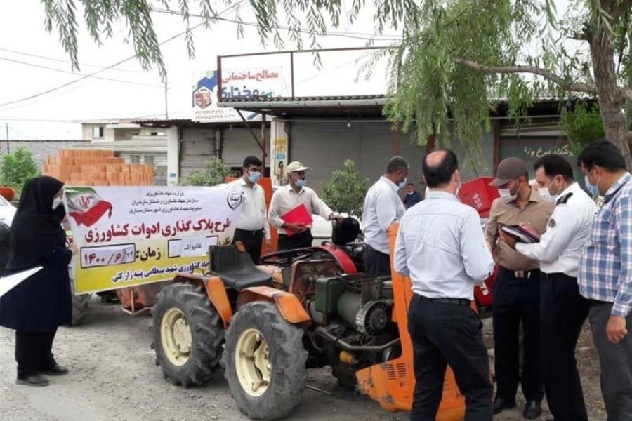 پلاکگذاری ۴ هزار وسلیه نقلیه مازندران در ۲ هفته