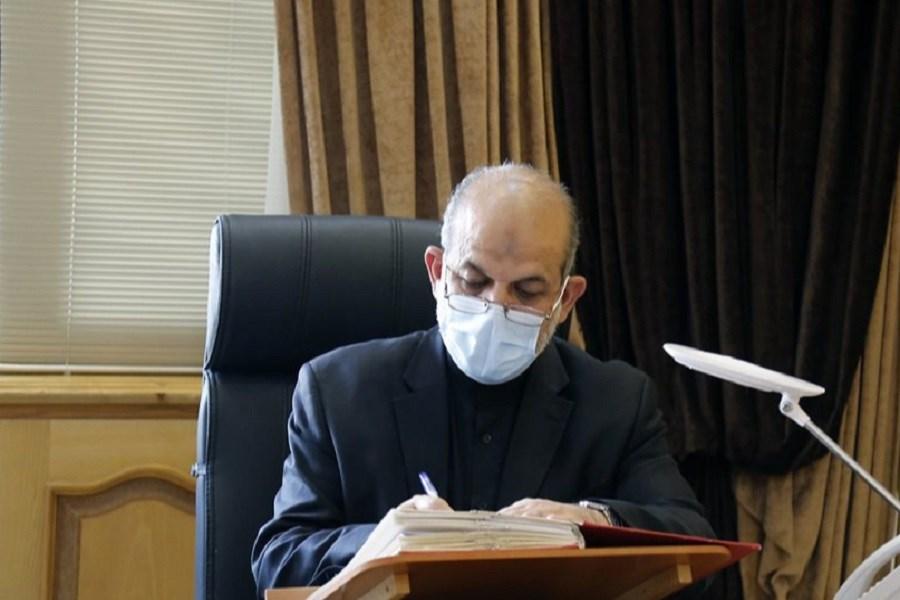 تصویر صدور حکم شهردار اهواز از سوی وزیر کشور