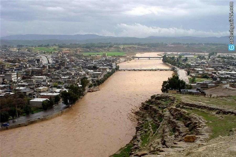 سند مالکیت رودخانه کشکان  صادر شد