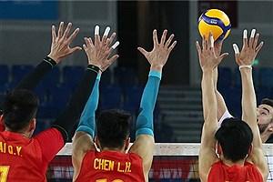 تصویر  تیم ملی والیبال چین به جایگاه سوم رسید