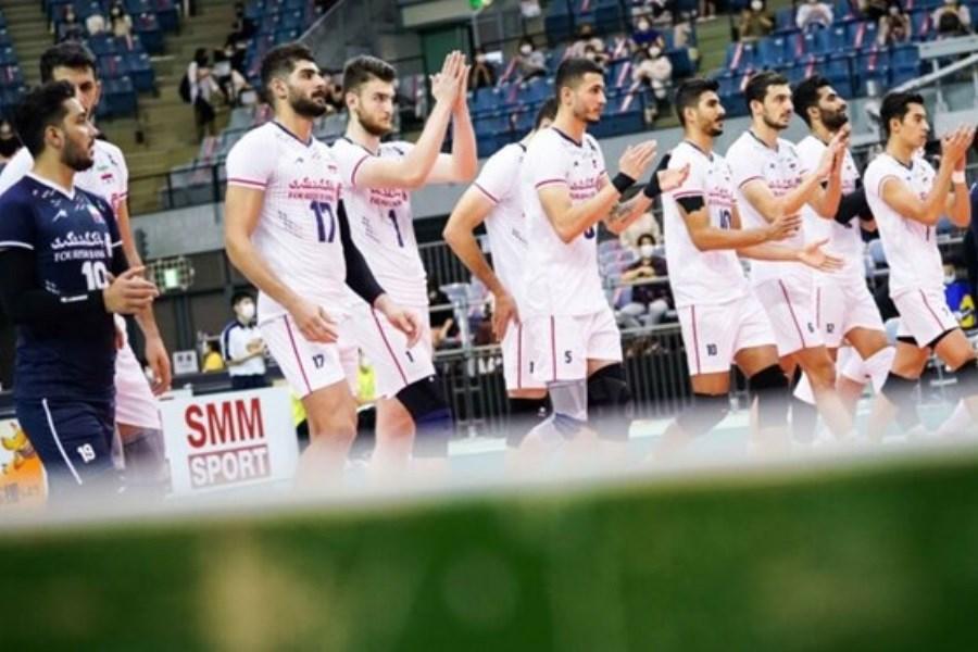 تصویر 5 والیبالیست ایرانی در جمع منتخب های آسیا