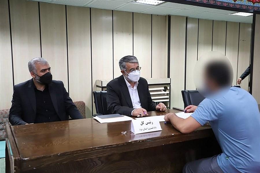 دیدار مقامات قضایی استان یزد با 769 مددجوی زندانی