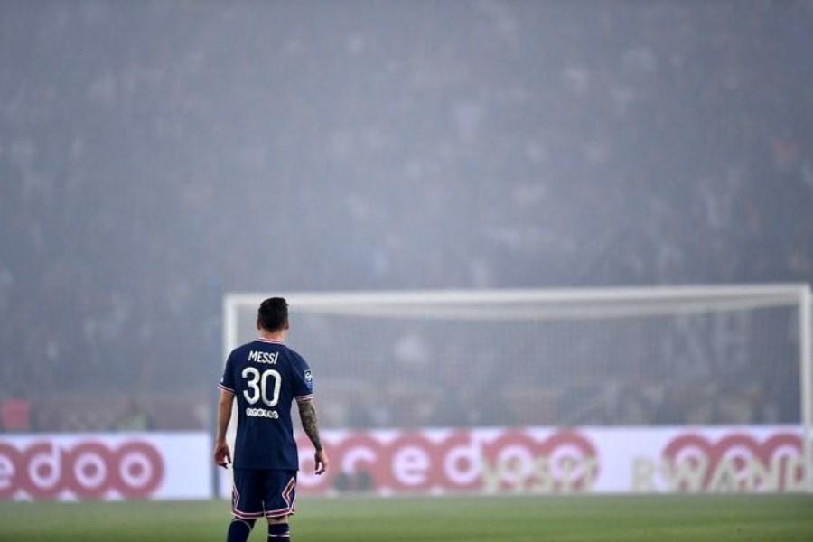 رفتار زشت مسی پس از تعویض در بازی + تصاویر
