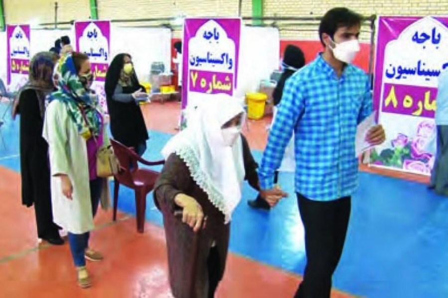 تزریق صددرصدی واکسن کرونا در شاهینشهر