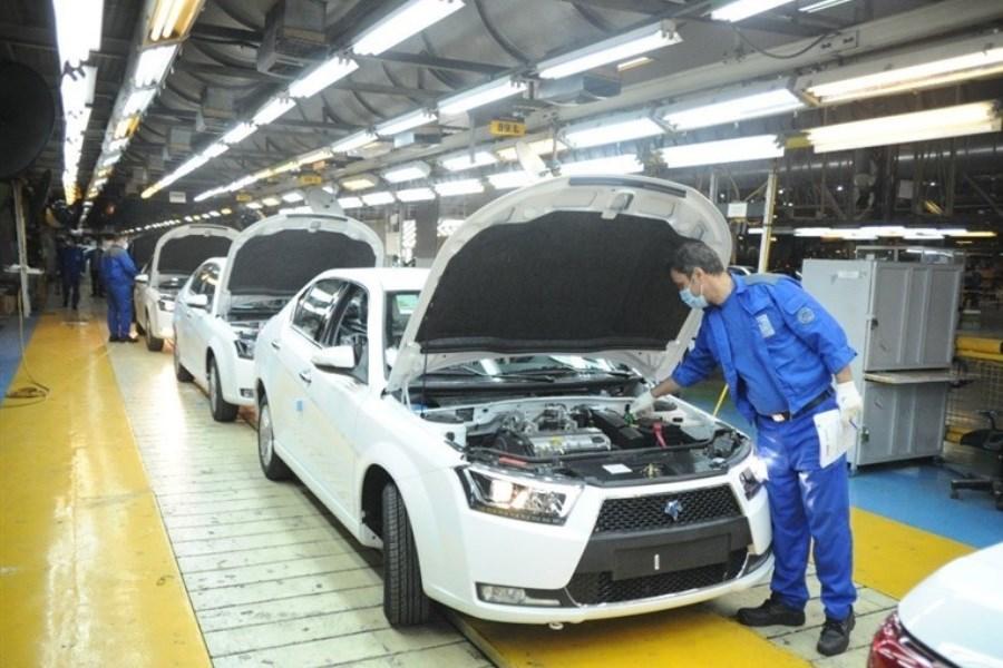 تصویر جمعی از نمایندگان تهران از شرکت طراحی و تولید موتور ایران خودرو بازدید کردند