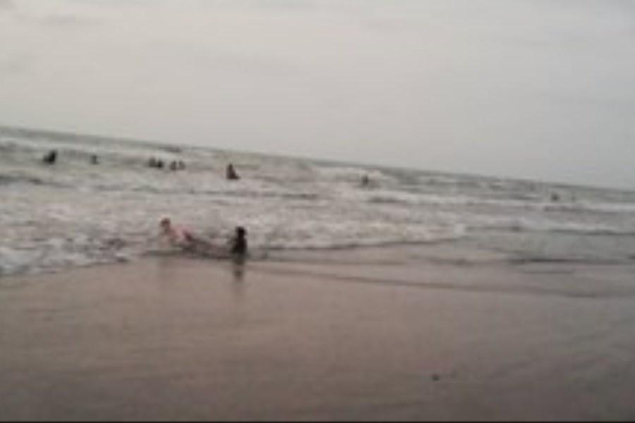 تصویر غرق شدن ۶۲ نفر در دریای مازندران!
