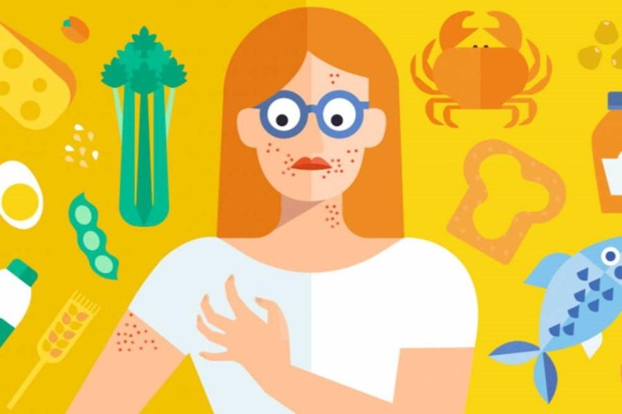 تصویر همه چیز درباره حساسیت غذایی
