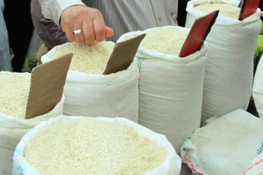 تصویر برنج ارزان شد