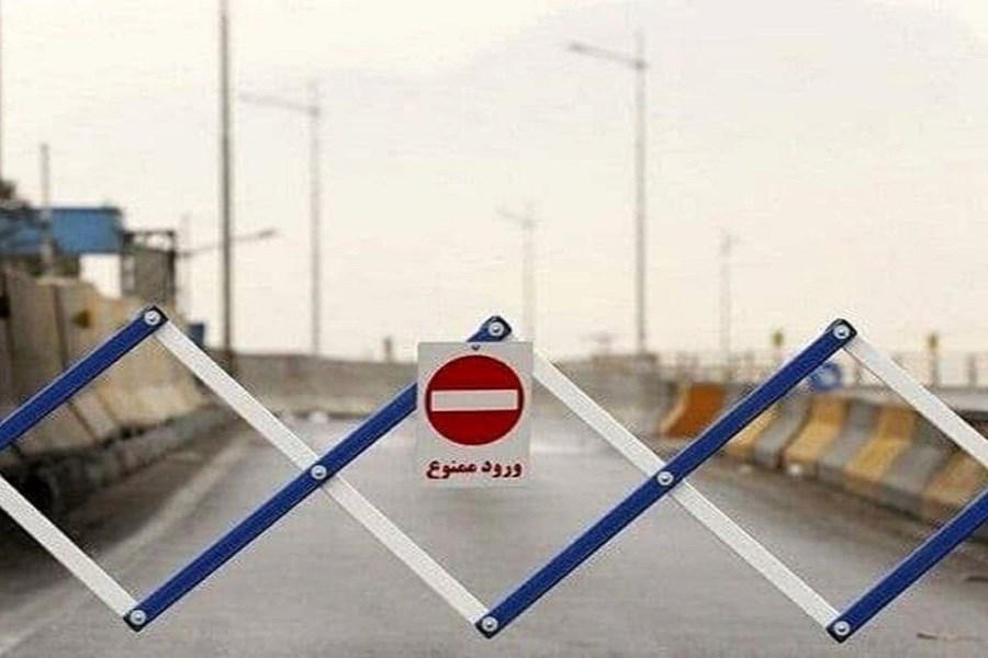 تصویر ادامه روند ممنوعیت ورود به استان