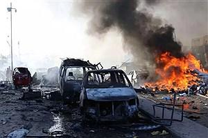 تصویر  انفجار انتحاری در پایتخت سومالی