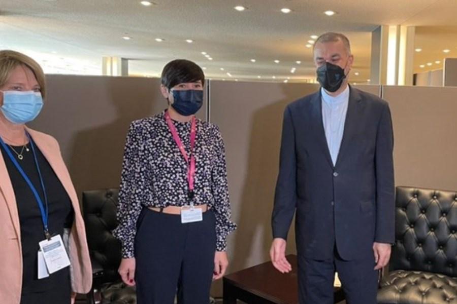 تصویر اظهار امیدواری وزیر امور خارجه نروژ به احیای برجام