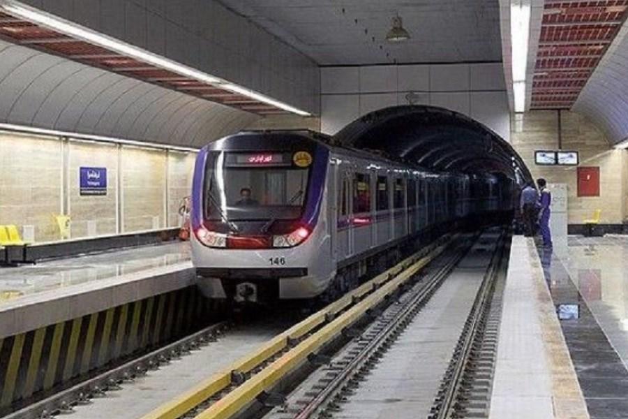 تصویر خط 1 مترو تهران دوشنبه رایگان میشود
