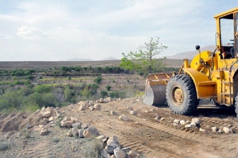 رفع تصرف20 هزار متر مربع از اراضی ملی در مازندران