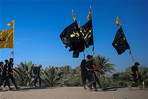 تصویر  شرکت مجازی در پیادهروی اربعین