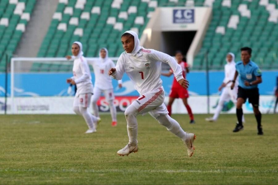 تیم ملی فوتبال بانوان ایران به جام ملتهای آسیا صعود کرد