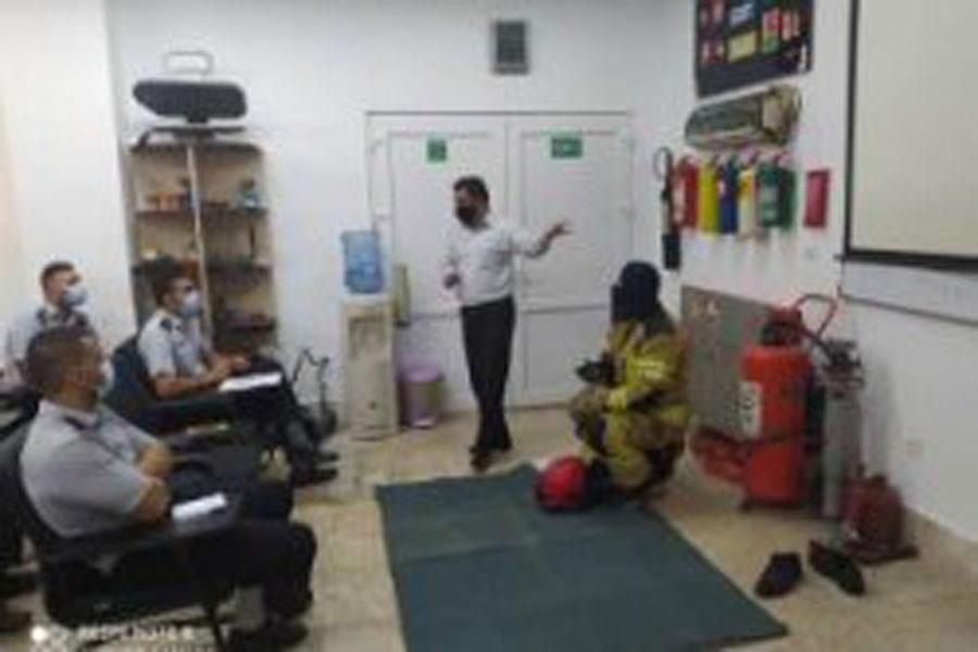 برگزاری دوره سه روزه ویژه نیروهای جدید آتش نشانی کیش