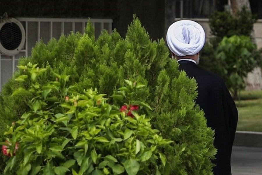 تصویر رییس جمهور سابق کجاست؟