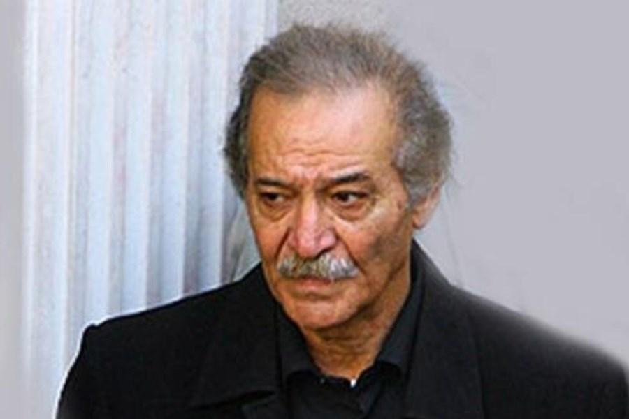تصویر خاکسپاری سیامک اطلسی  درکنار ولی الله شیراندامی