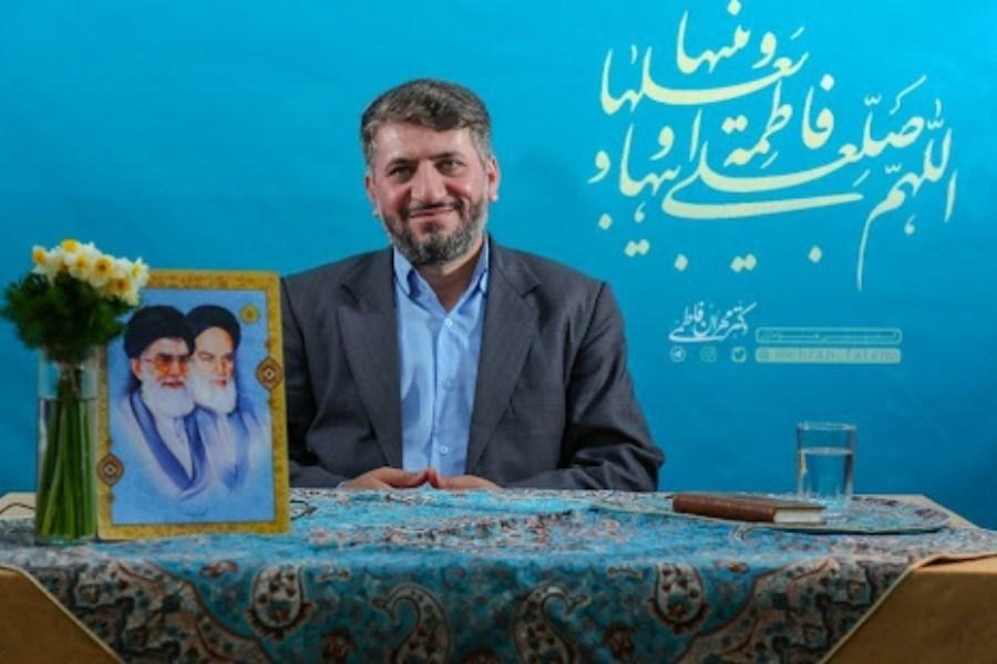 تصویر پیام تبریک رسانه پرسون به استاندار جدید یزد
