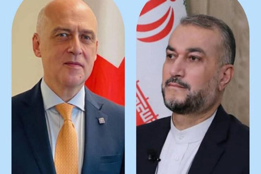 پیام تبریک وزیر خارجه گرجستان به امیرعبداللهیان