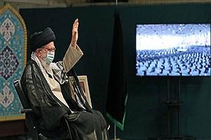 تصویر  مراسم عزاداری اربعین حسینی با حضور رهبر معظم انقلاب