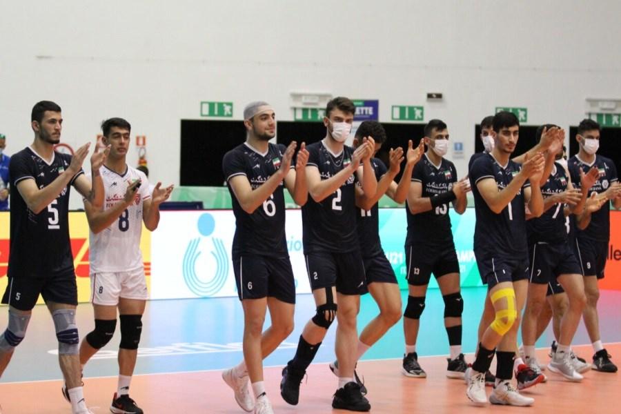 برنامه سومین روز رقابت های والیبال قهرمانی جوانان جهان