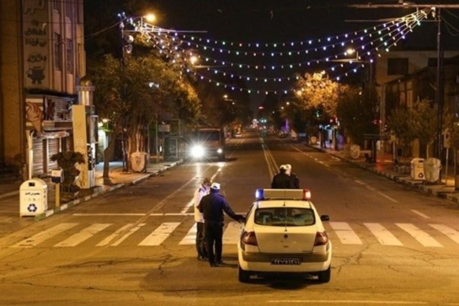 منع تردد شبانه در تهران هنوز برقرار است