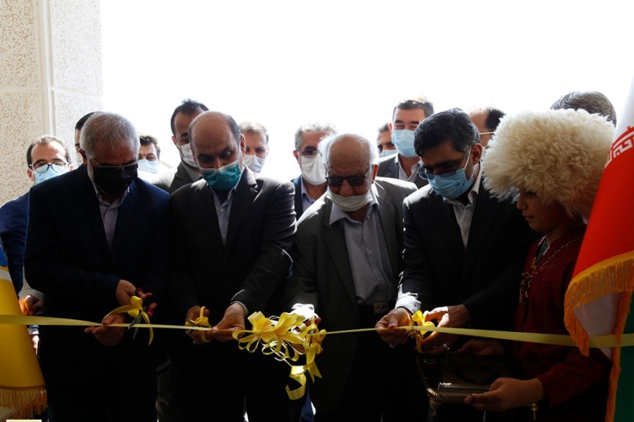 افتتاح دبیرستان ایرانسل در گلستان