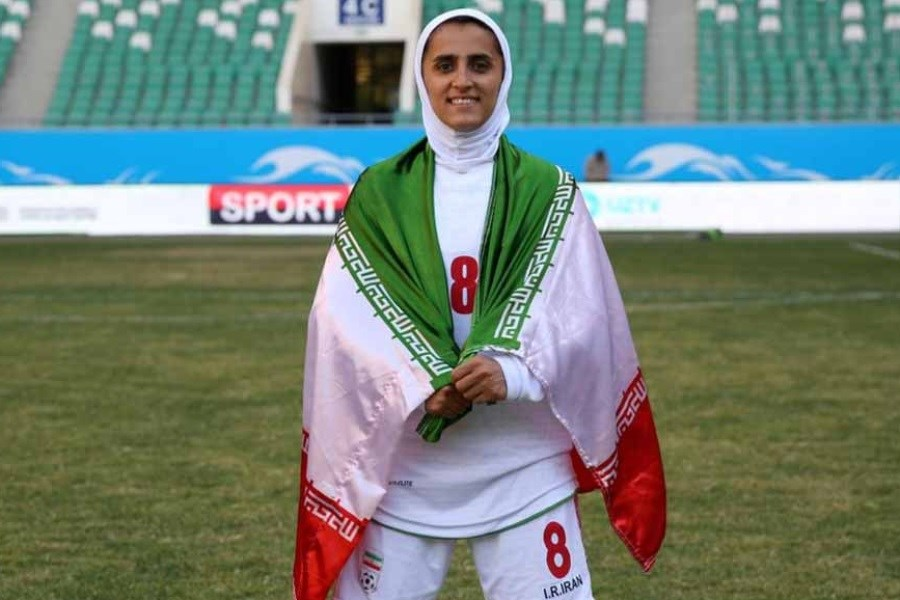 AFC از کاپیتان تیم ملی بانوان ایران تمجید کرد