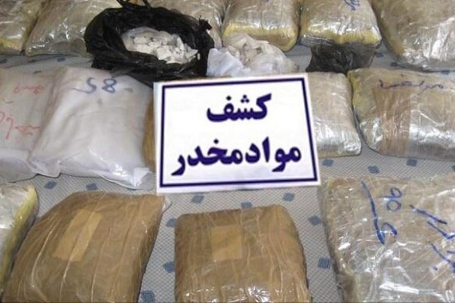 ۸۰ کیلوگرم مواد مخدر از نوع تریاک کشف شد