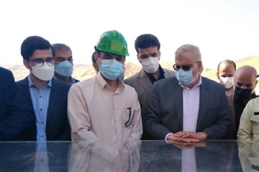 بازدید وزیر نفت از سد چم شیر در گچساران
