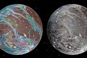 تصویر  بزرگترین قمر منظومه شمسی رصد شد!