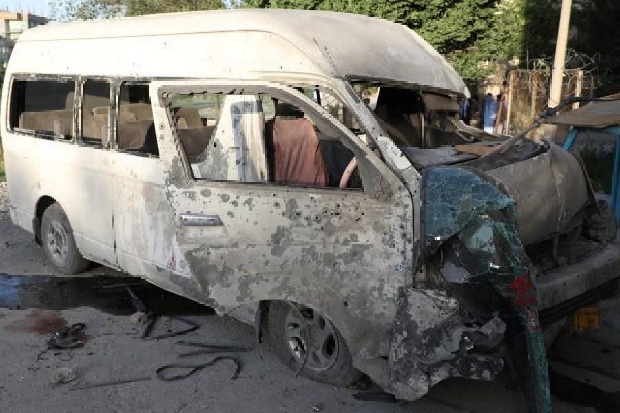 خودروی بمب گذاری شده طالبان در جنوب کابل منفجر شد