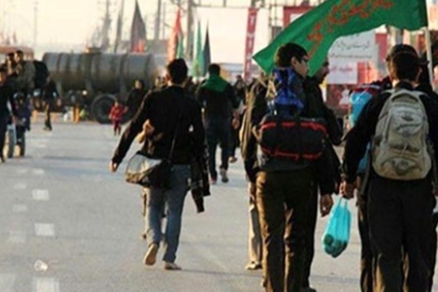 ورود ۶۲۲۰۰ زائر اربعین به کشور از طریق مرز مهران