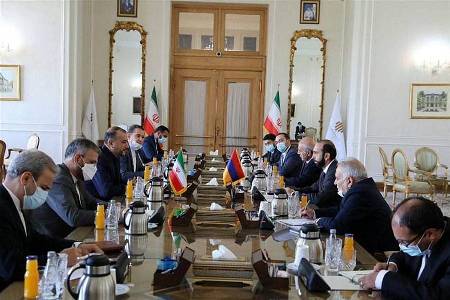 تصویر اجازه نخواهیم داد رژیم صهیونیست خدشهای به روابط ایران با همسایگان وارد کند