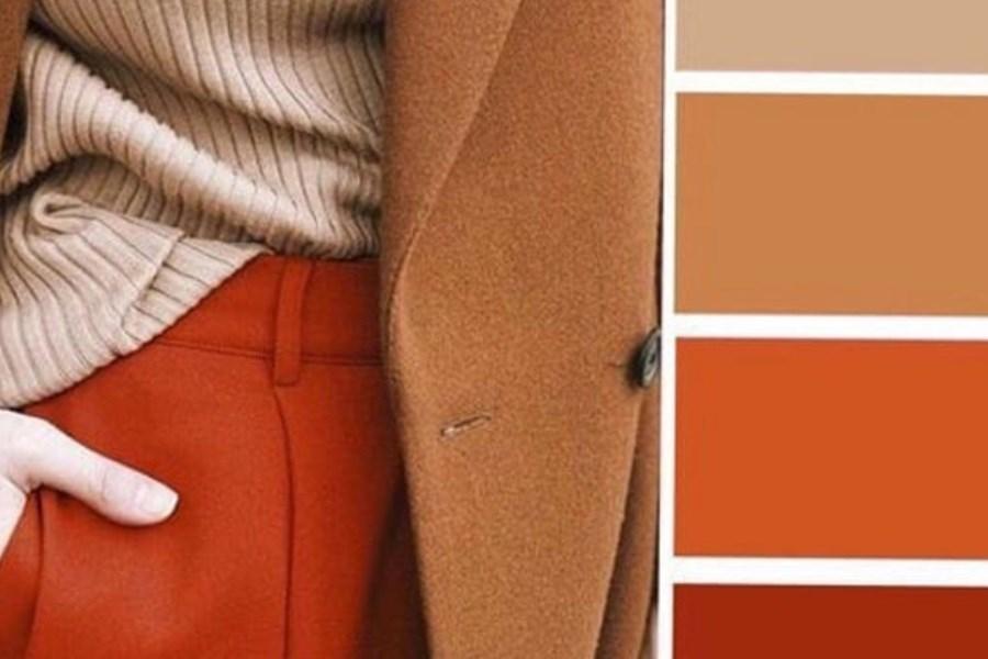تصویر رنگ های جذاب پاییزی برای ست لباس خانم ها