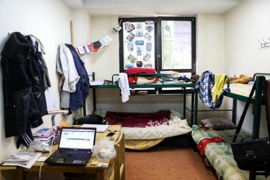 تصویر این دانشگاه به دانشجویان ورودی جدید خوابگاه نمیدهد