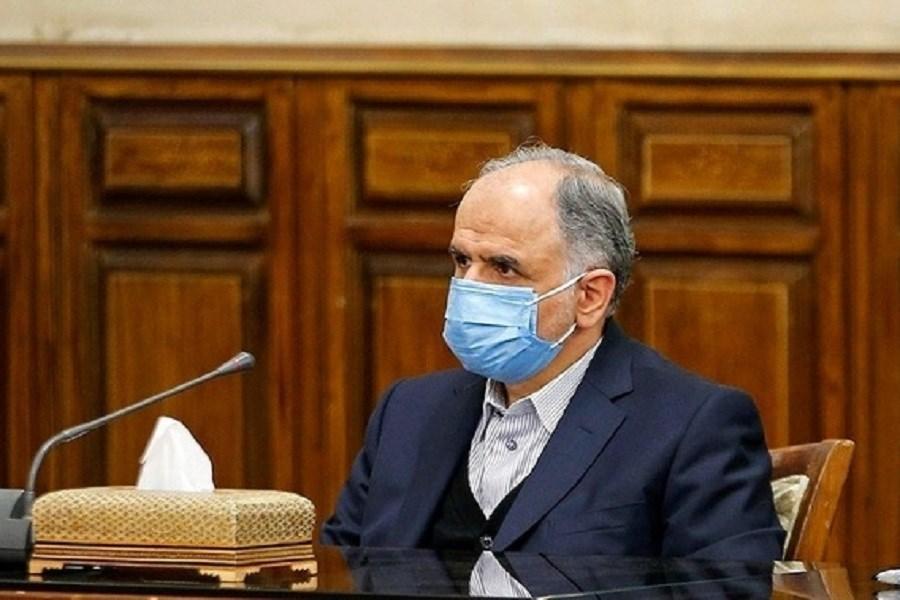 تصویر مقصد چهاردهمین نامه رئیس دیوان محاسبات روی میز وزیر دادگستری