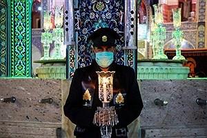 تصویر  برگزاری آیین خطبهخوانی امشب در حرم امام رضا (ع)