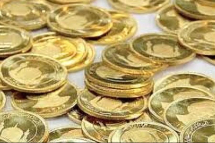 تصویر سکه در سراشیبی قیمت