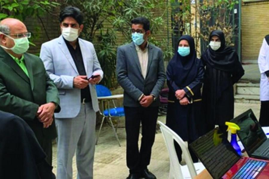 بازدید زالی از روند واکسیناسیون ضربتی دانش آموزان تهرانی