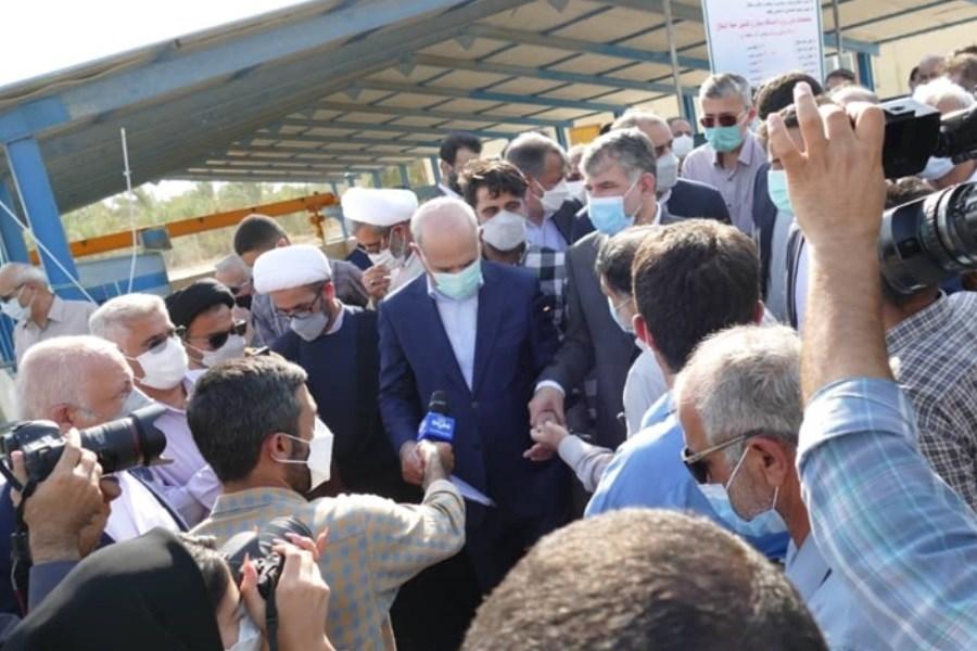 حضور مدیر عامل بانک کشاورزی در جمع کشاورزان و نخل داران استان بوشهر