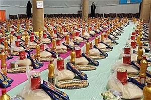 تصویر  160 هزار بسته معیشتی از ابتدای شیوع کرونا تا کنون در استان توزیع شده است