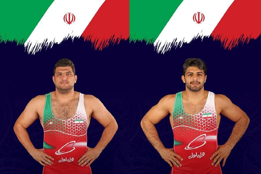 تبریک قالیباف به مناسبت کسب مدال طلای ساروی و یوسفی در مسابقات قهرمانی کشتی جهان