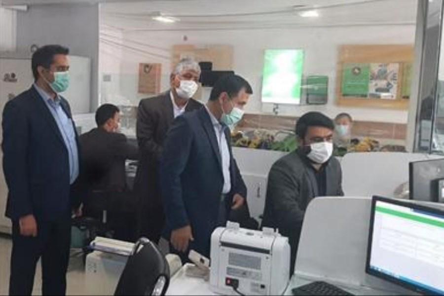 بازدید نایب رئیس هیأت مدیره بانک مهر از استان خراسان شمالی