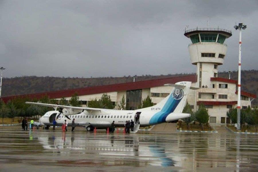 افزایش پنج برابری تعداد پروازهای فرودگاه یاسوج