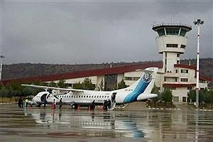 تصویر  افزایش پنج برابری تعداد پروازهای فرودگاه یاسوج